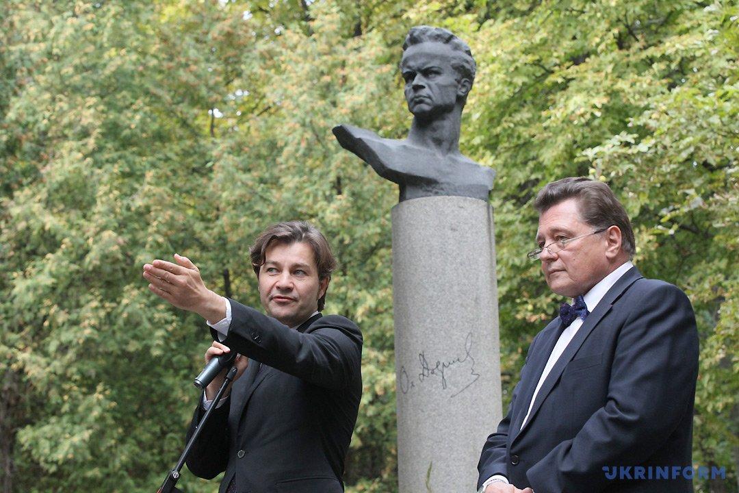 Євген Нищук (ліворуч) і Олесь Янчук