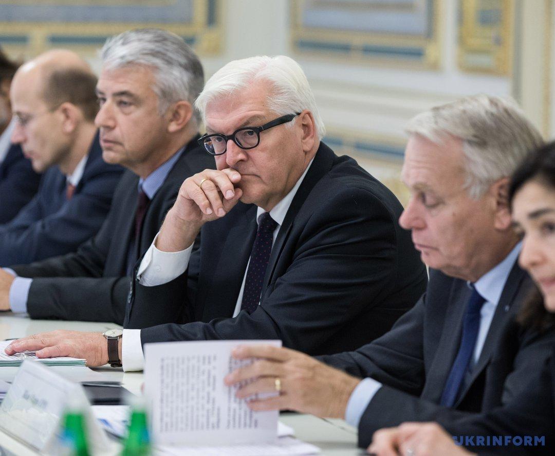 Міністр закордонних справ ФРН Франк-Вальтер Штайнмайєр