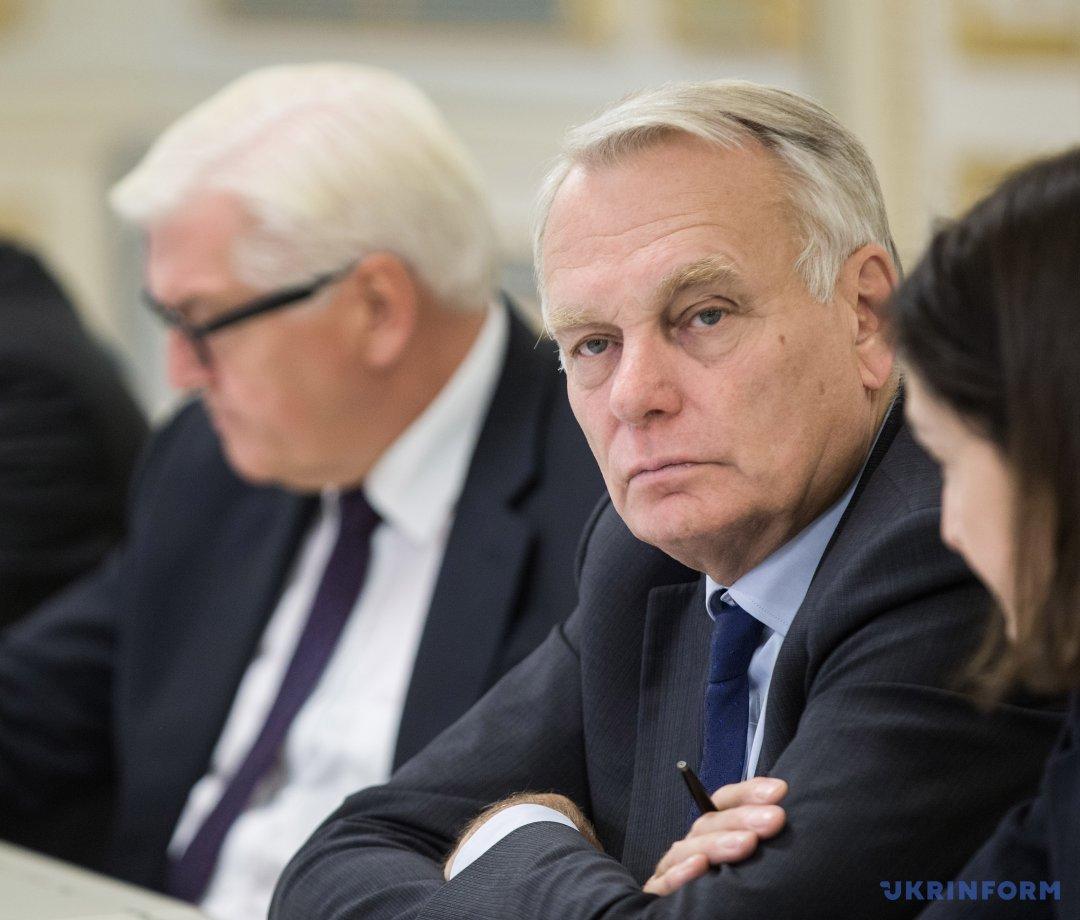 Міністр закордонних справ та міжнародного розвитку Франції Жан-Марк Еро