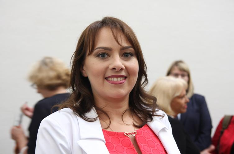 Анна Канопацкая. Фото: Алена Луцкая