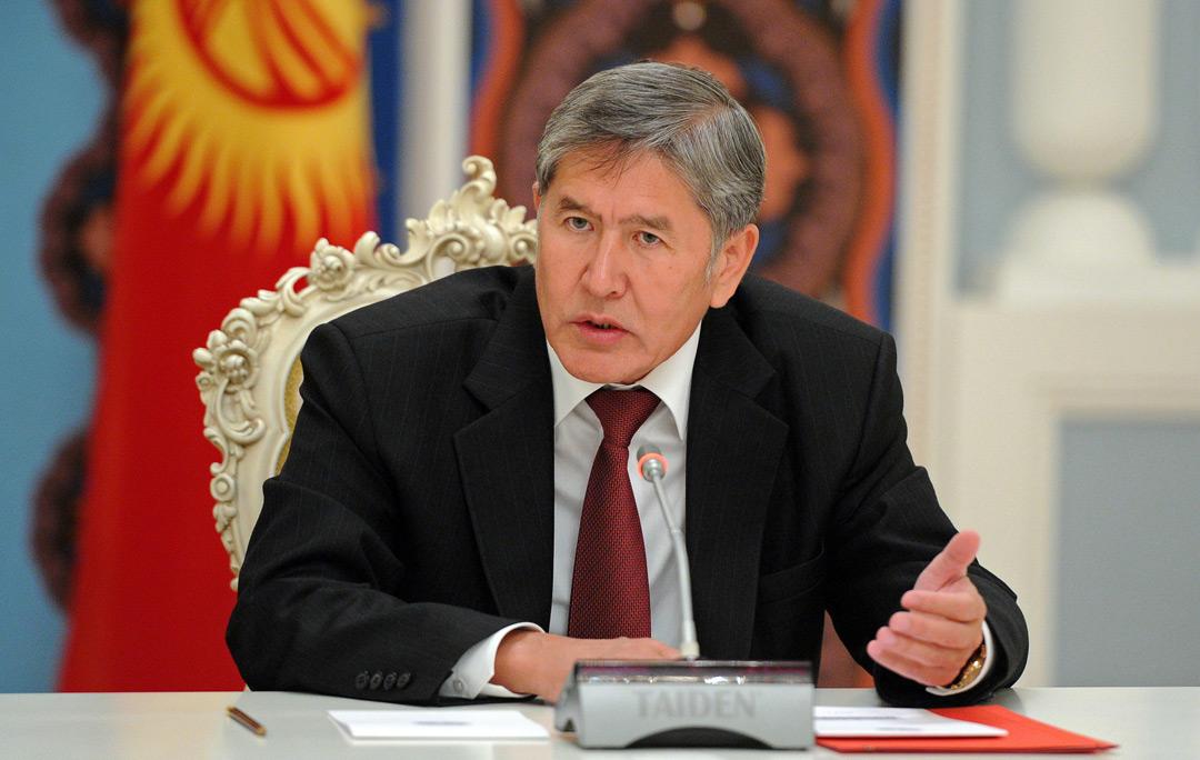 Алмазбек Атамбаєв // Фото з відкритих джерел