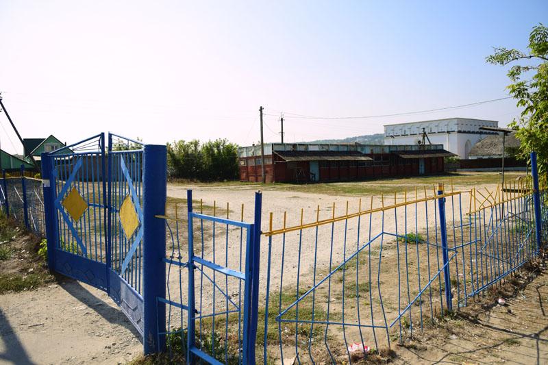 Базарна площа, смт Сатанів, Хмельницька область, 16 вересня 2016 року.