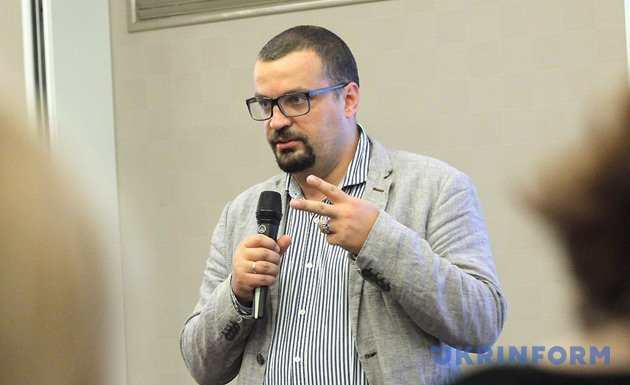 Голова Державного агентства України з питань кіно Пилип Іллєнко