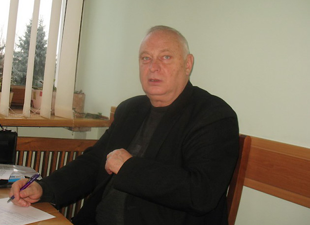 Павел Матиюк. Фото: Волынское областное управление лесного и охотничьего хозяйства.