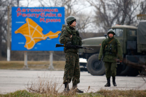 Russian aggression in Crimea started five years ago