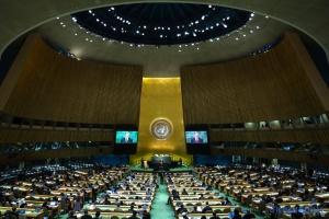 Zgromadzenie Ogólne ONZ przyjęło rezolucję w sprawie militaryzacji Krymu