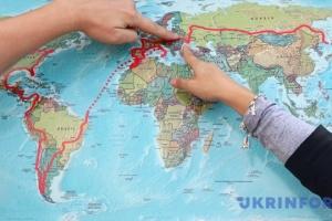 Украину в прошлом году посетили свыше 14 миллионов туристов