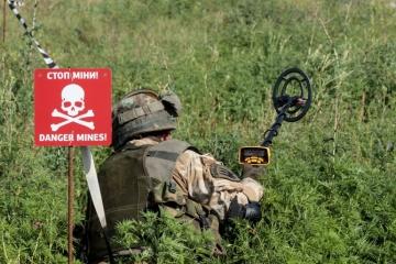 OSCE: Actividades de desminado cerca de Stanytsia Luganska siguen en curso