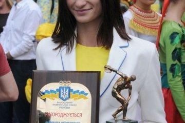 乌克兰田径运动员普利谢帕在波兰赢得比赛