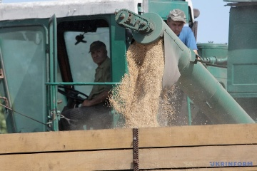 Ukrainian agrarians already harvested 34 mln tonnes of early grain crops