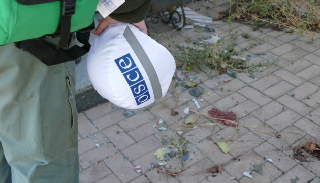 OSCE recorded 33 explosions in Donbas on Monday