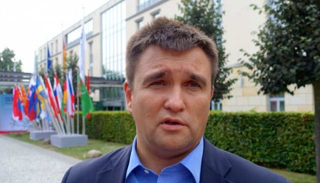 Klimkin very surprised to hear from Hungarian colleague the idea about revision of Association Agreement due to educational law