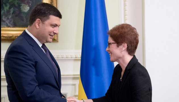 Ukraine's Prime Minister, U.S. Ambassador to Ukraine discuss reforming of customs