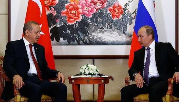 Ердоган обговорив із Путіним військову операцію в Сирії