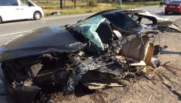 Побег от полиции подо Львовом: авто разорвало пополам