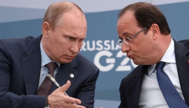 Від ситуації у Сирії залежить, чи захоче Олланд зустрічатися з Путіним – Еро