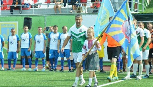 У Вишневому зіграють у футбол, аби допомогти пораненим військовим