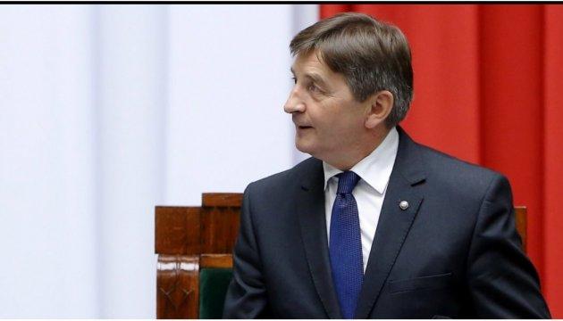 Маршалок польского Сейма отменил визит в Грузию из-за ситуации в парламенте
