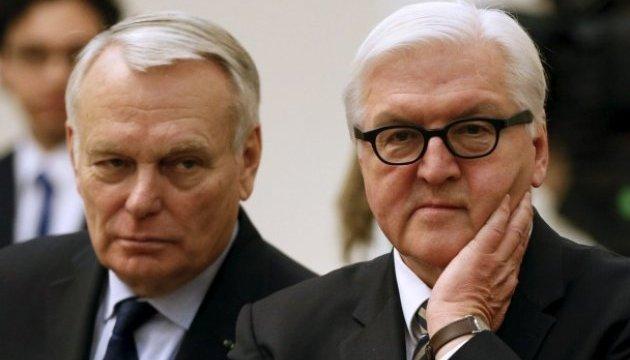 Глави МЗС Німеччини і Франції збираються до Києва