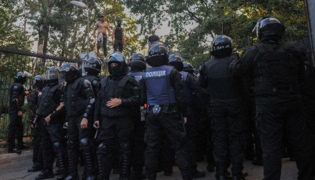 Поліція локалізувала конфлікт на столичному будмайданчику
