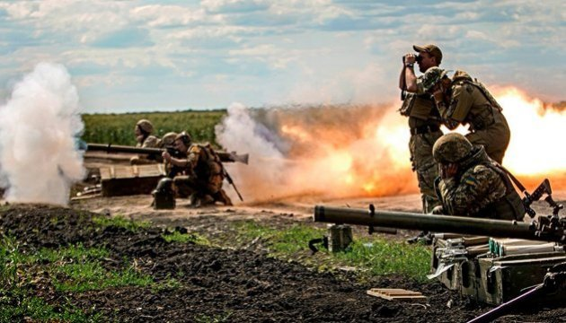 Militants launch 17 attacks on Ukrainian troops in Donbas in last day