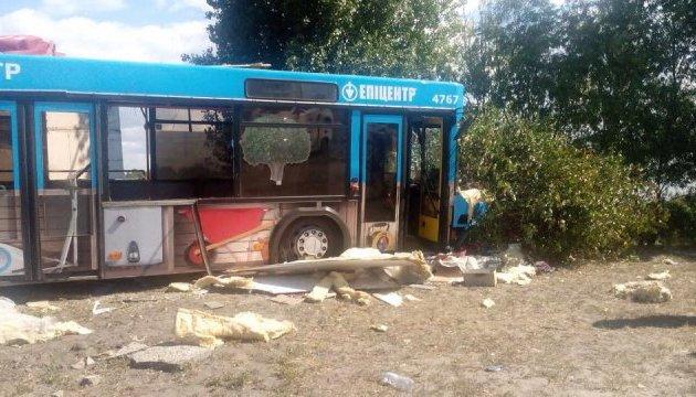 У Києві автобус в`їхав у кафе