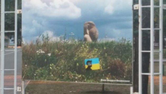 На вулицях Донецька розклеїли листівки