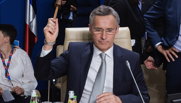 Stoltenberg, Lavrov to discuss situation in Ukraine