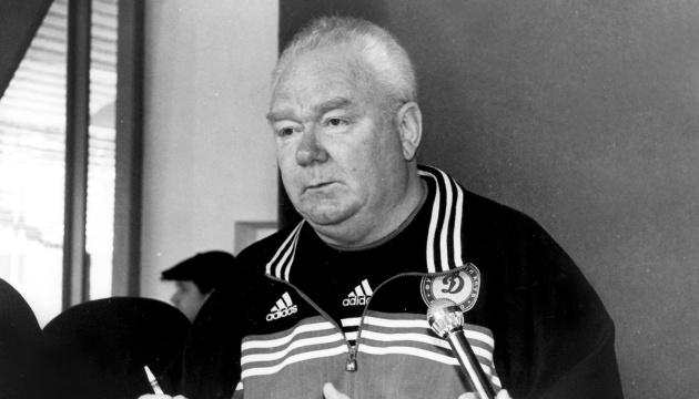 UEFA le incluye a Lobanovski en la lista de los diez mejores entrenadores de todos los tiempos