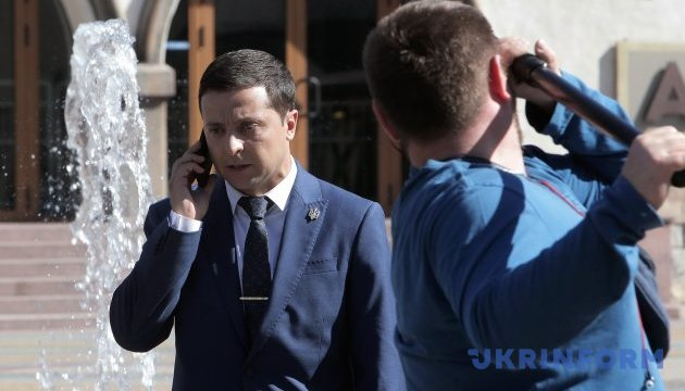 Zelensky says Servant of the People party goes into politics
