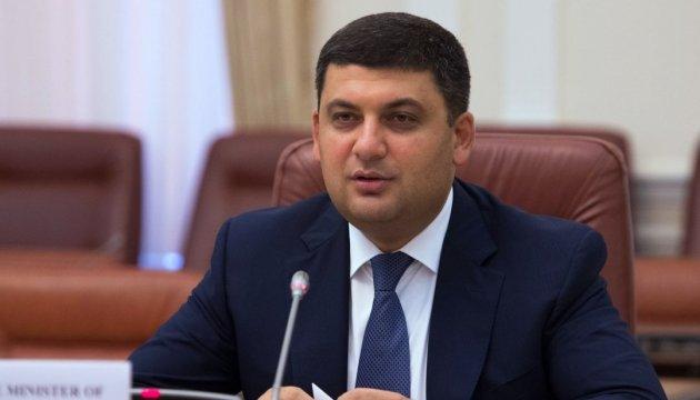 Regierungschef Hrojsman besucht Brüssel