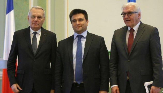 Глави МЗС Франції та Німеччини разом з Клімкіним завтра приїдуть на Донеччину