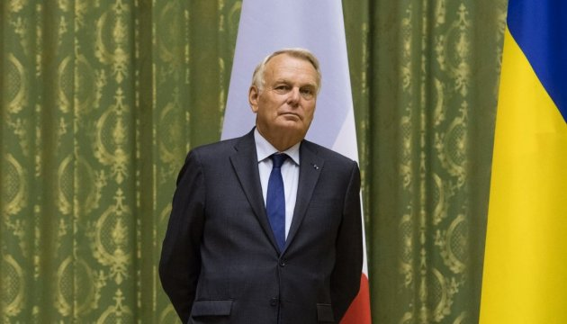 Глава МЗС Франції засудив захоплення українських підприємств на Донбасі