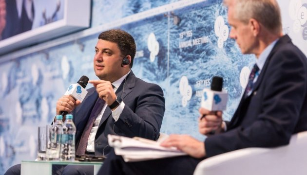 Groysman promises to support development of small farming