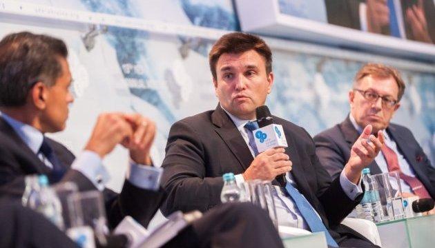 Україна стала заручницею боротьби за владу в Європі - Клімкін