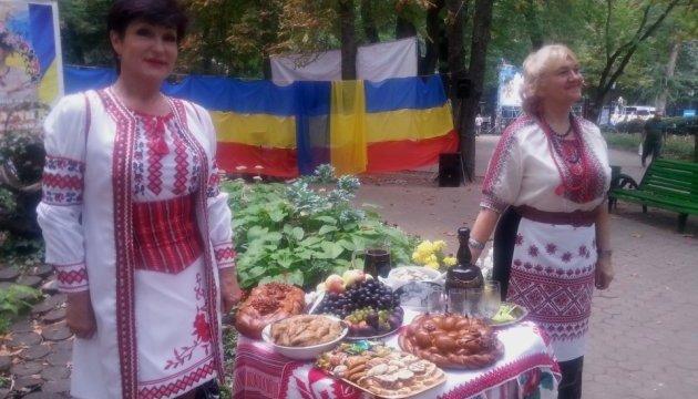 «Українське подвір'я» у Кишиневі пригощає гостей фестивалю етносів