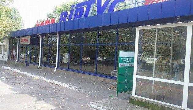 Чорноморськ: поліція взяла штурмом магазин, захоплений вранці невідомими