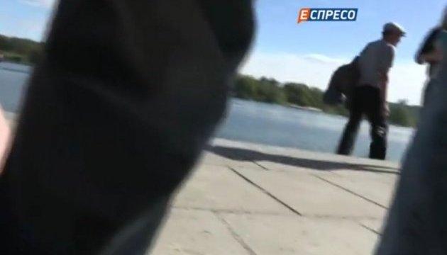 Напали на журналістів, які знімали місце загибелі Таранова
