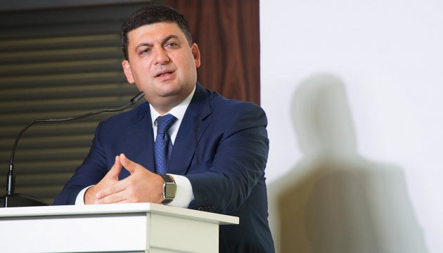 PM Groysman says some repaired roads in poor condition again