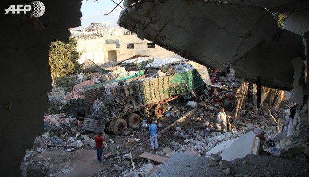 Кількість жертв атаки на гумконвой у Сирії зросла до 20 - Червоний Хрест