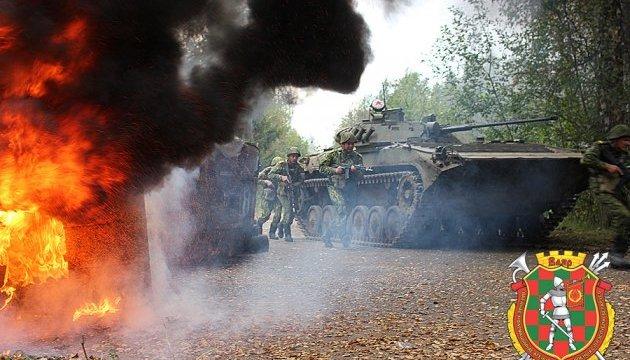 В Беларуси на учениях смоделировали «захват города сепаратистами»