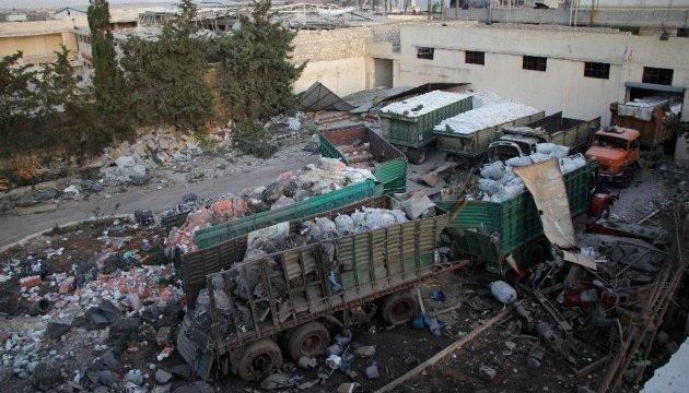 ООН обвинила Асада в атаке на гумконвой под Алеппо