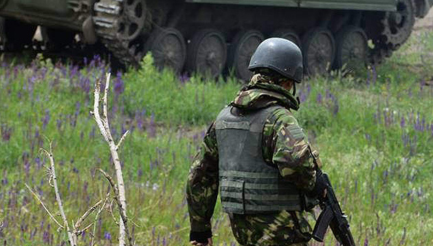 One Ukrainian serviceman killed in last day