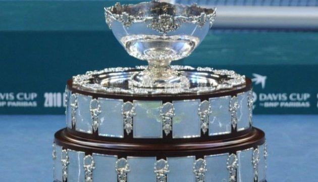 Кубок Девіса: Україна зіграє з переможцем