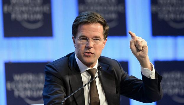 Рютте в Давосе жестко раскритиковал Еврокомиссию из-за бюджета Италии