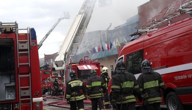 Крупный пожар в Москве унес жизни пяти человек