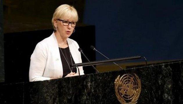 Швеція вимагає від РФ припинити провокації в Азовському морі