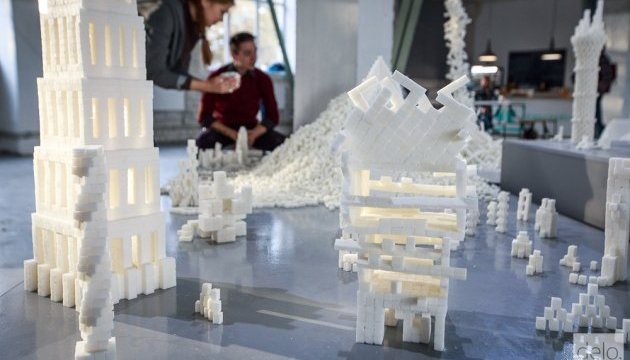 Exhibition of sugar cube sculptures underway in Kyiv (photo)