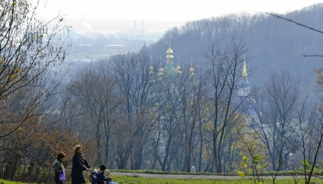 Cloudy weather expected in Kyiv today