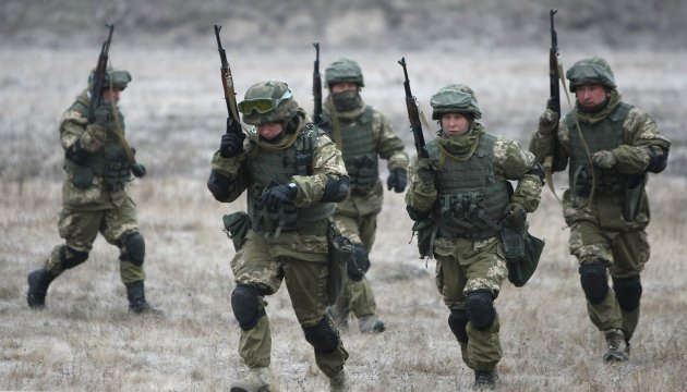 Five Ukrainian soldiers wounded in ATO zone in past day